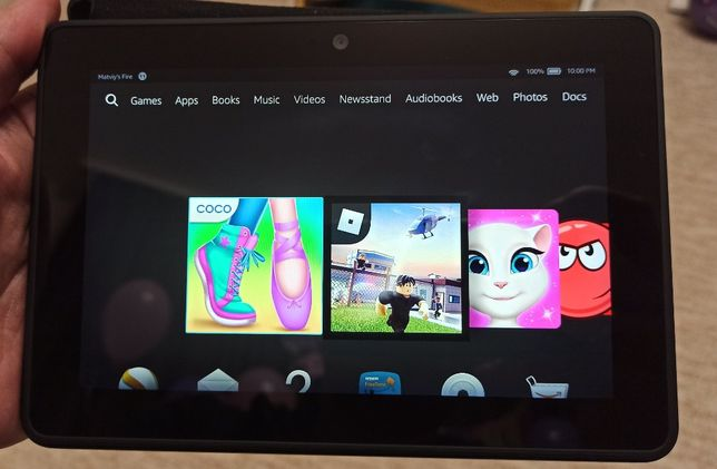 """Планшет Amazon Kindle Fire HDX IPS 7"""" 2Gb/32Gb повністю справний + чох"""