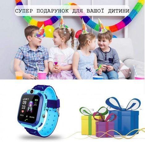 Водонепроницаемые Смарт часы Q12 с GPS камера фиолетовые