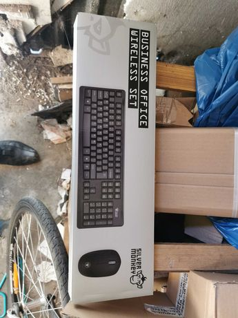 Zestaw Silver Monkey Business Office Wireless Set