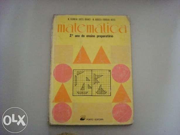 Livros escolares usados de Matemática - 5º, 6º, 7º e 8º Anos