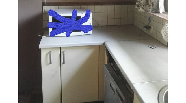 Mastercook kuchenka elektryczna szafki zlew mikrofalówka komplet