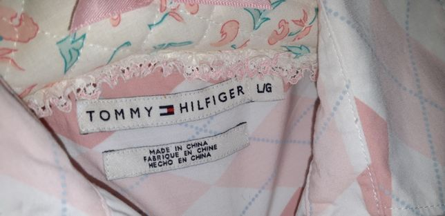 Tommy Hilfiger damska koszula w romby L