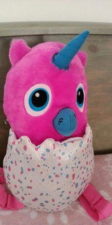 Plecak jednorożec Hatchimals pluszak plecaczek maskotka