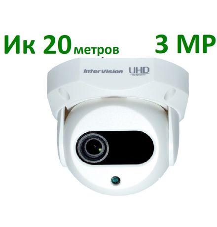 3Mp видеокамера XVI/AHD interVision камера видео наблюдения внутренняя