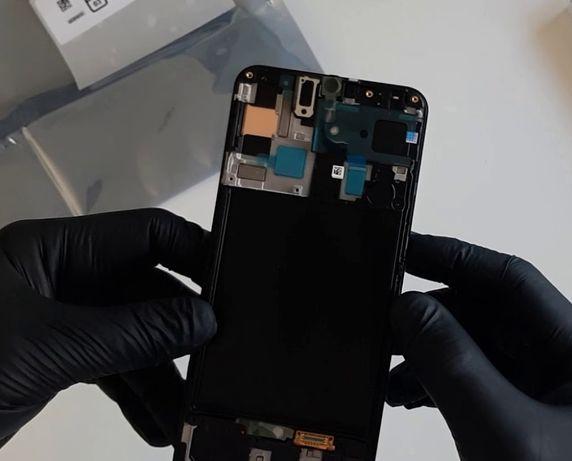 Дисплей Samsung Galaxy A50 2019 (A505) / A30 2019 (A305) + рамка