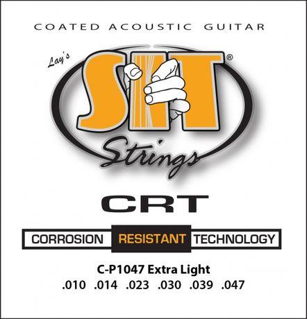 J. Cordas Guit. Acústica Coated SIT  CP1047