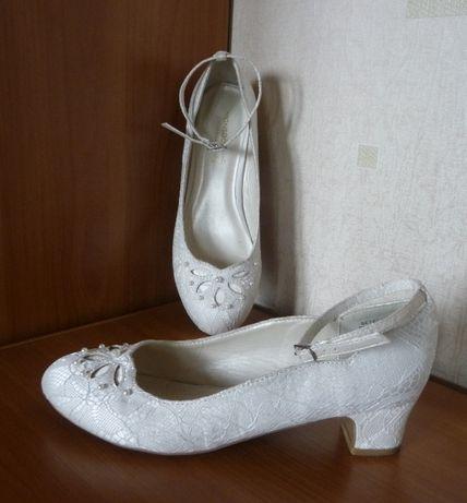 Туфли белые MONSOON