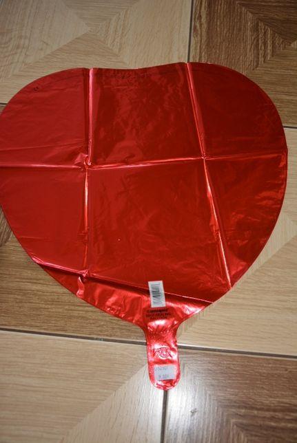 Balon hel, czerwone serce 18 cali
