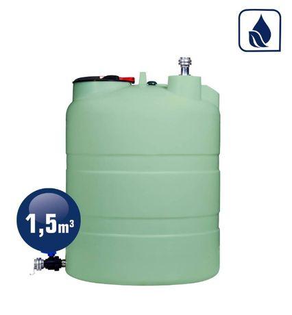 Zbiornik Jednopłaszczowy 1500 Eco-line Basic do nawozów płynnych