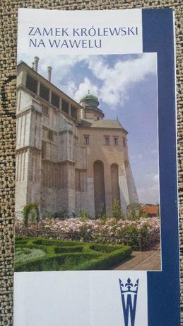 folder zamek królewski na Wawelu