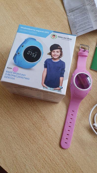 GJD03 Smartwatch dla dziecka różowy Kamionki - image 1