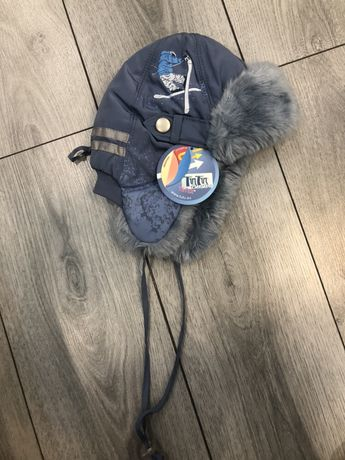 Шапка детская новая на мальчика зимняя шапка ушанка