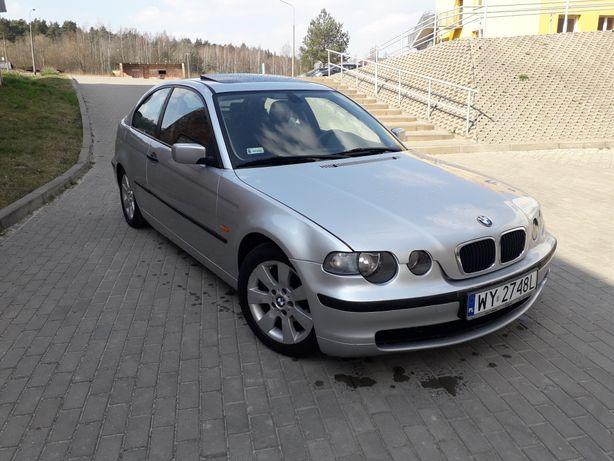 BMW E46!COMPACT!1.8 Benzynka! Bez Korozji! TECHNIKA IGLA! Sp/Zamienię