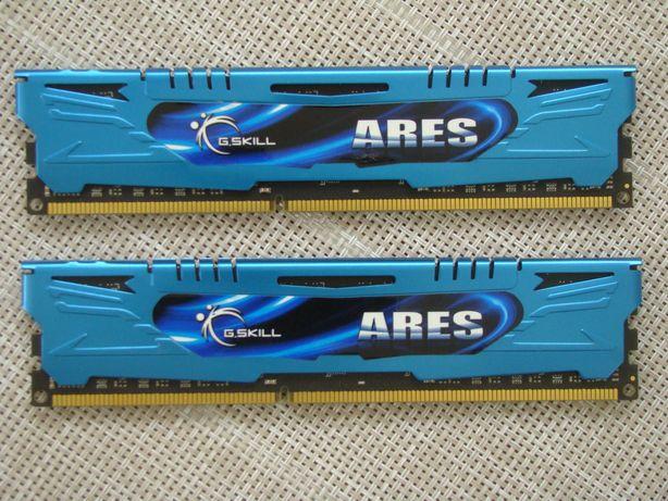 Память DDR3 2400 MHz 16Gb (2x8Gb) G.Skill Ares