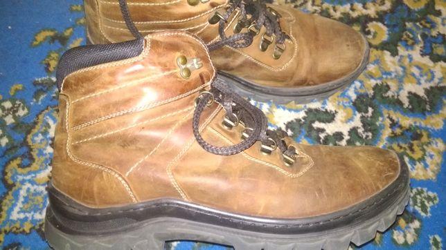Ботинки Мида кожаные