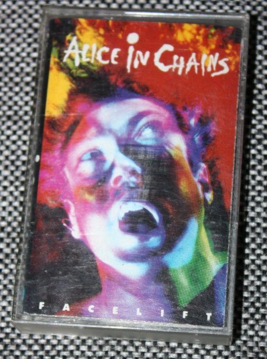Kaseta magnetofonowa Alice in Chains Facelift