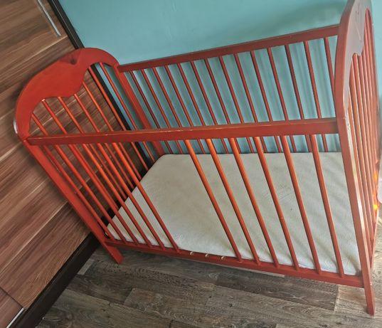 Łóżeczko dziecięce 125x65
