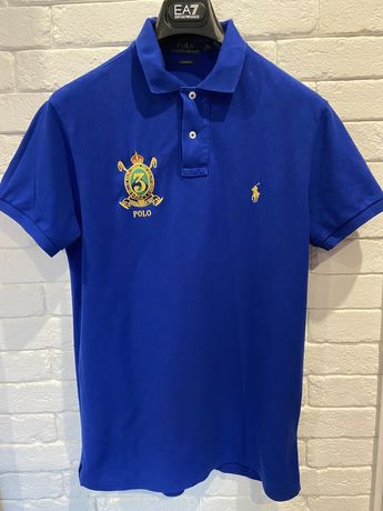 Granatowa męska koszulka polo RALPH LAUREN