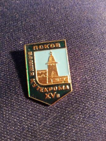 Значок Башня Кутекрома Псков