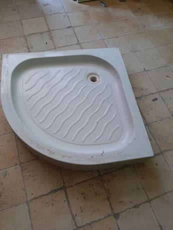 Base + Cabine duche canto 80×15×1.85