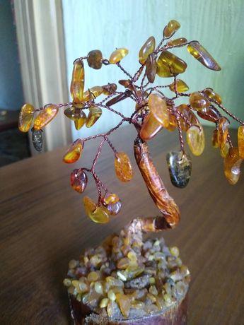 Янтарное дерево