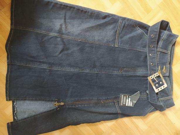 Новая юбка джинсовая, размер L, подростковый