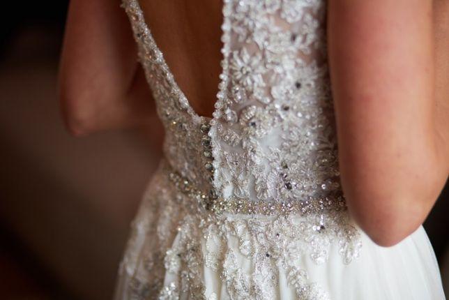 Niepowtarzalna suknia ślubna rozm.36