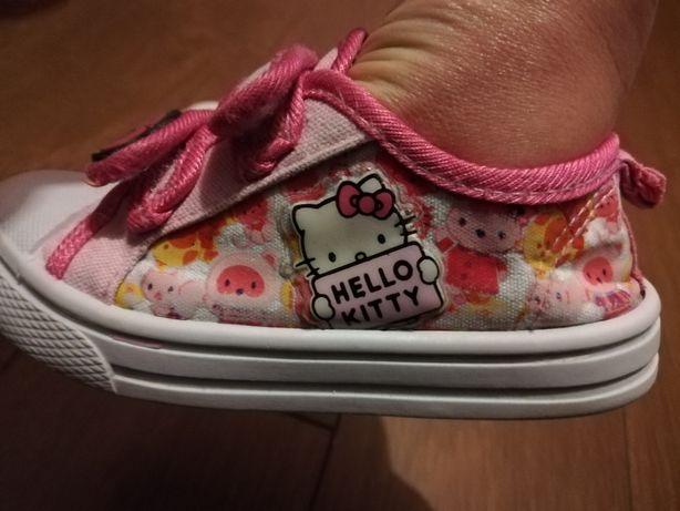 Sandałki,meliski,trampki dziewczęce, Hello Kitty,roz 25,26