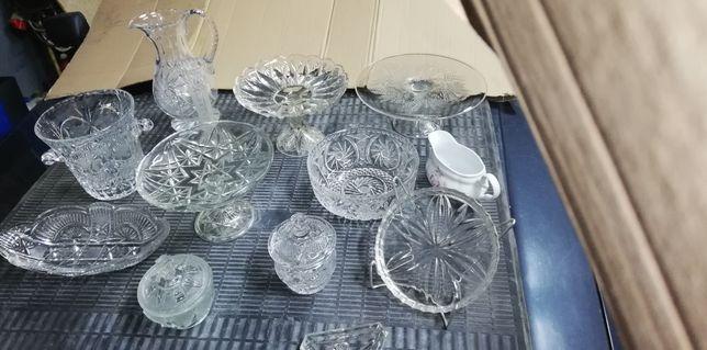 Kryształ kryształy wazon patera cukierniczka