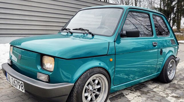 Fiat 126p cult style smoor kolekcjonerski