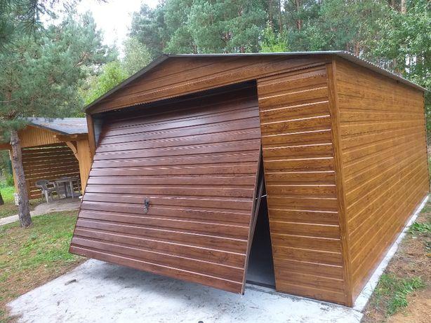 GARAŻE BLASZANE blaszaki schowki budowlane garaż schowek na budowę