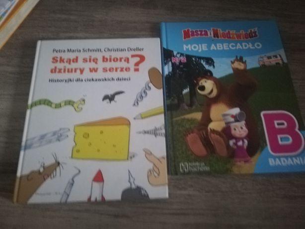 Książki dla przedszkolaków po 5 zl sztuka