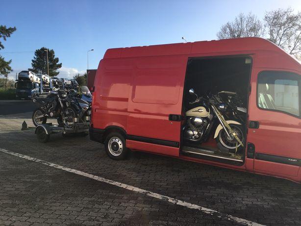 Transporte de motas e moto 4