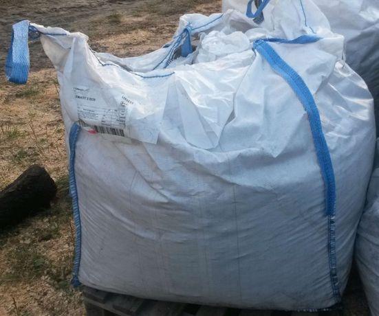 Worki big bag, mocne, rękaw spustowy, cztery uszy, 15 zł brutto