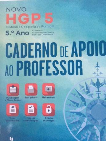 Novo HGP 5, História e Geografia de Portugal 5ºano - Dossiê do prof.