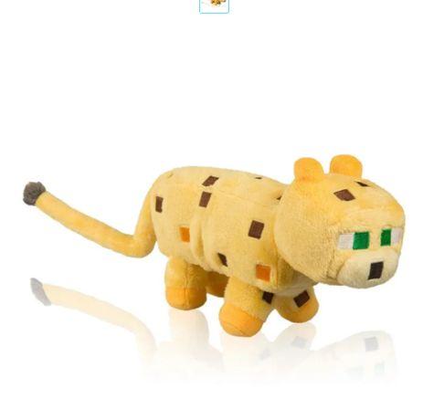 Мягкая игрушка King Ocelot Майнкрафт minecraft большой оцелот 30 см.
