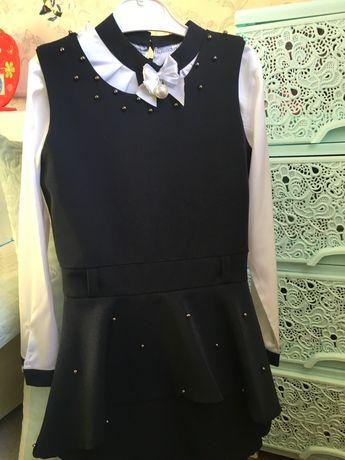 Платье, школьная форма на 116 -122 рост