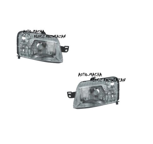 Fiat Panda 03-12 Reflektor Przedni Lampa przednia