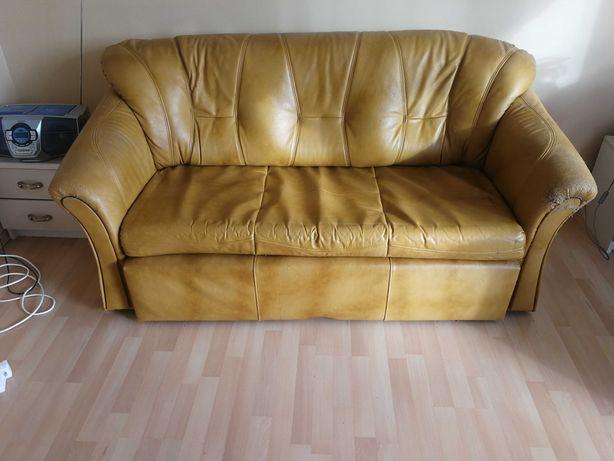 Sprzedam sofę rozkładaną z dwoma fotelami