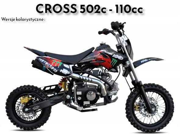 cross kxd 502c 110cc manual koła 12 10 hit roku 2020