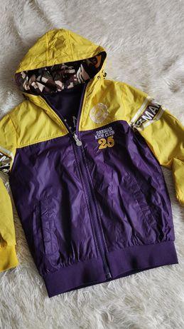 Куртка Ветровка мальчик 7лет