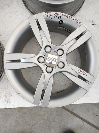 252 Felgi aluminiowe ORYGINAŁ SEAT R 16 5x100