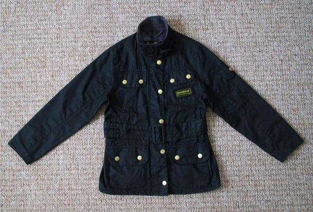 BARBOUR International waxed детская вощеная куртка оригинал 6-7 лет