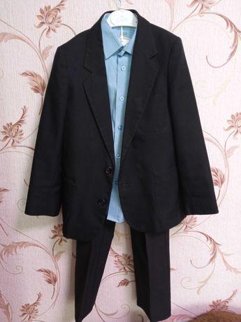 Костюм, брюки, піджак, сорочка шкільна форма