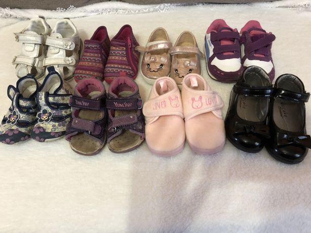Взуття для дівчинки 20, 21 розмір Обувь для девочки