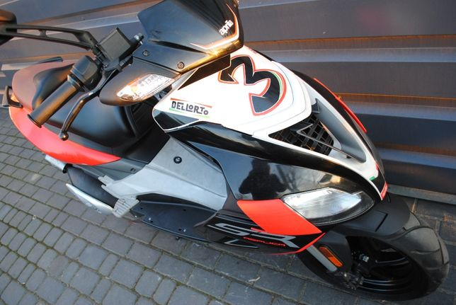Aprilia SR Factory 50 2011 ładny stan RATY transport inne skuter quad