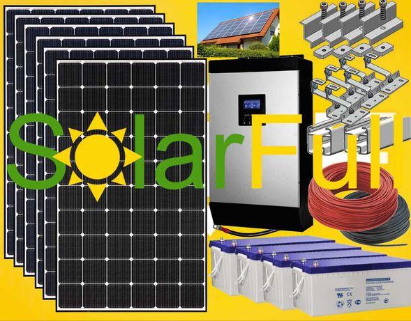 Kit – 5.000w habitação painel fotovoltaico solar pico 10 kw Pro 2460wh