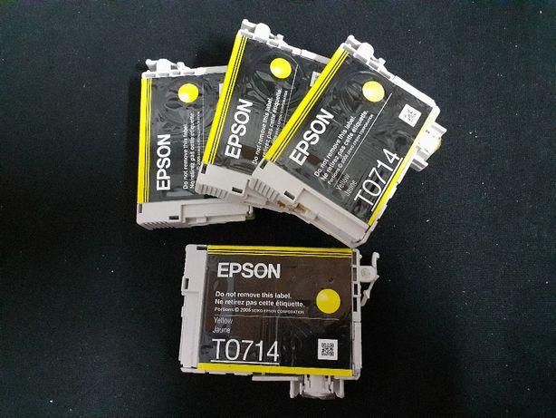 Tinteiros EPSON T0714 Yellow