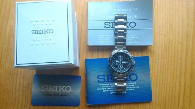 Relógio Seiko Solar (cronógrafo)