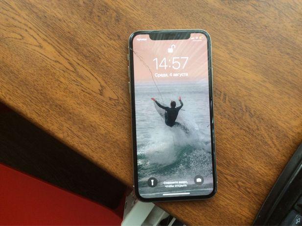Iphone X, рабочий, нужно поменять стекло